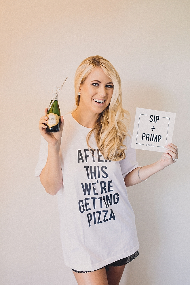 What's better than these amazing Bridal Party tee's?! The Bride designs them! We love them!