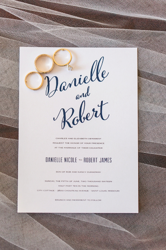How cute are these invitations?! We're loving them!