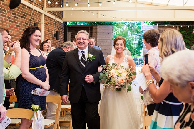 We're swooning over this couple's intimate wedding ceremony!