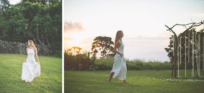 Crushing on these boho snaps of the new Mrs!