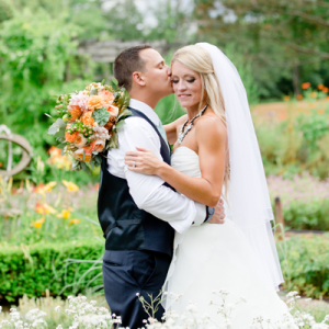 This wedding is FULL of handmade details you'll love!