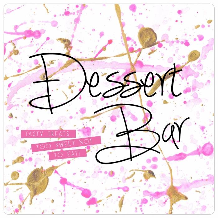 Cute free printable for the DIY bride: dessert bar print!