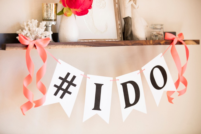 Free printable alphabet bunting banner! I may use this for my wedding!