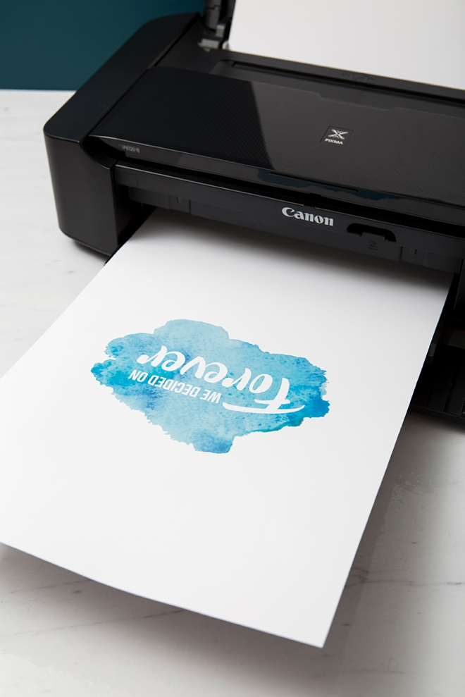 Print this darling watercolor guestbook sign for FREE!