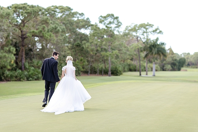 We're swooning over this stunning Mr. and Mrs. and their glam day!