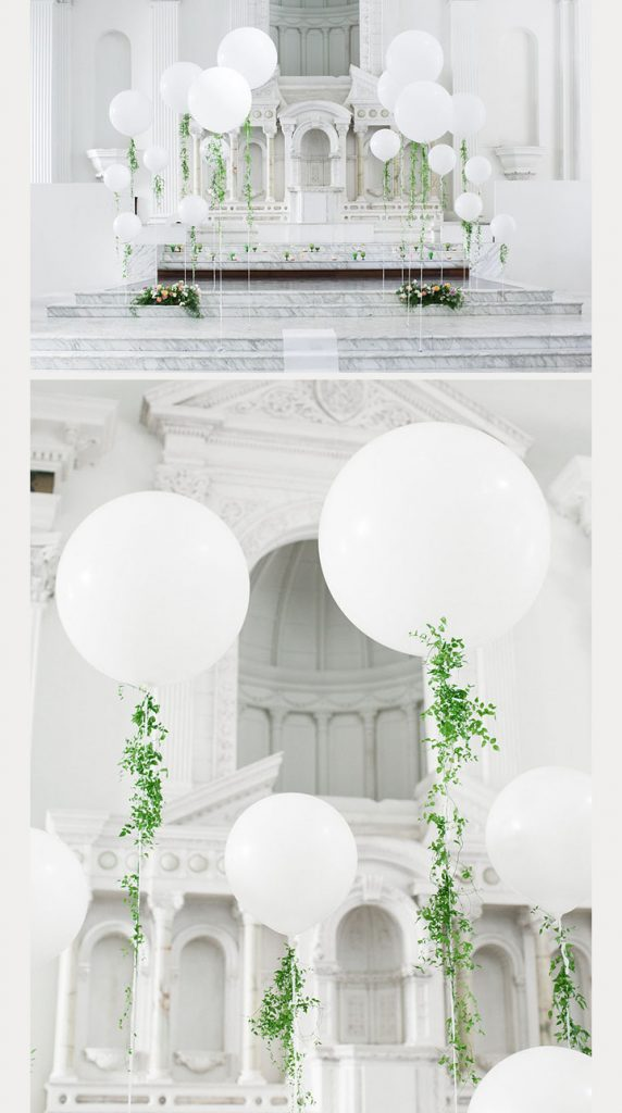 15 WAYS TO DIY BALLOONS FOR YOUR WEDDING - Something Turquoise