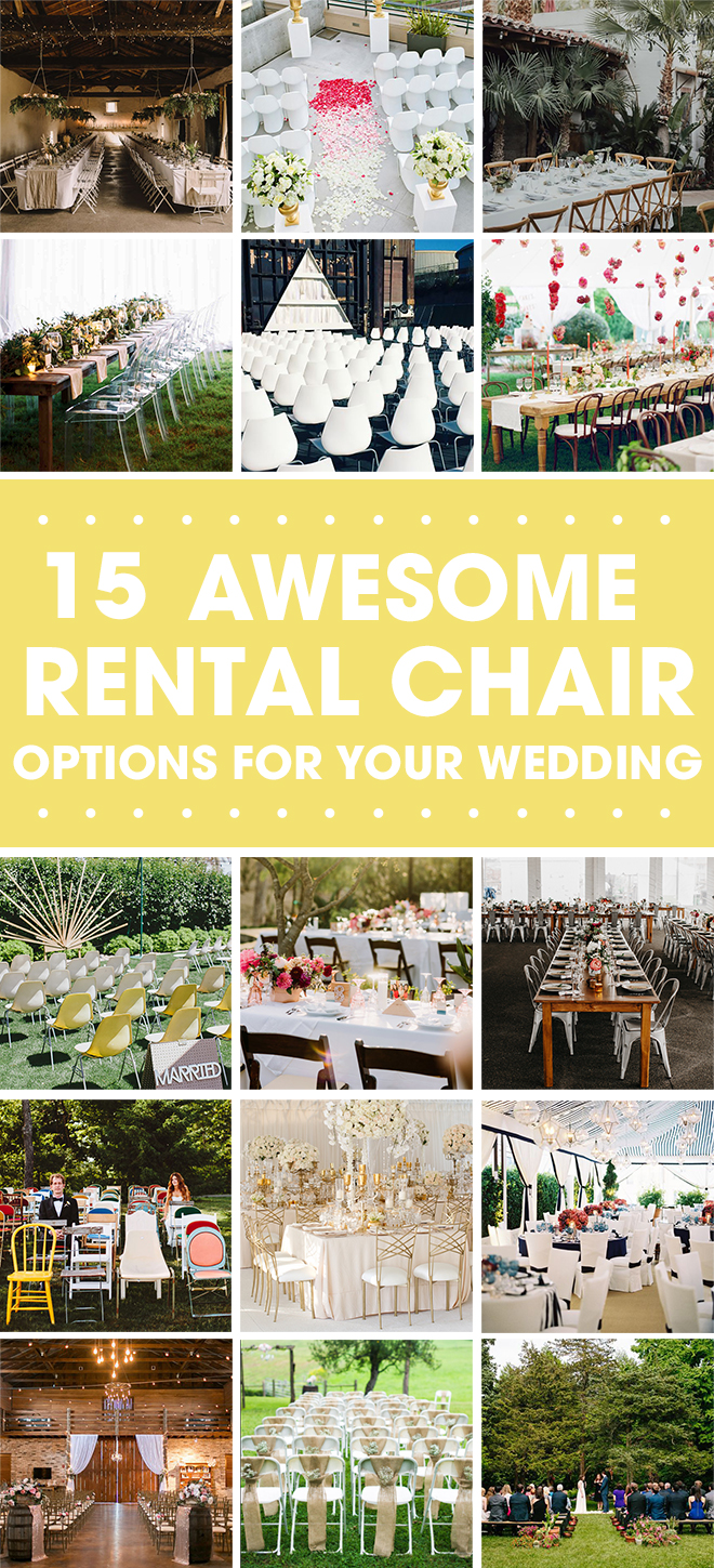 Which rental chair option is right for you?  Read this to find out.