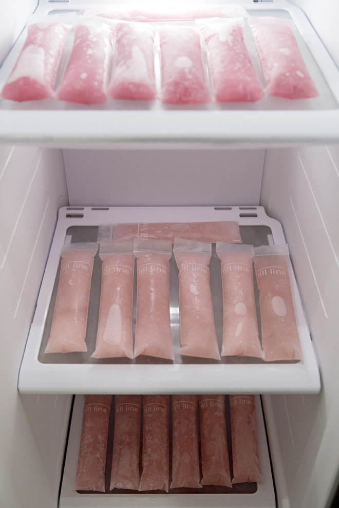 How to make Rosé popsicles, so easy and so delicious!