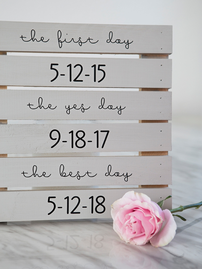 You HAVE To See These DIY Wedding Signs They Look Professional