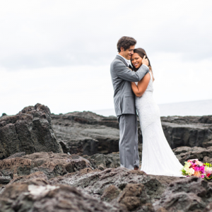 Crushing on this gorgeous styled trash the dress Hawaii shoot!