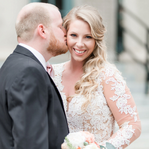 Swooning over this gorgeous handmade wedding!