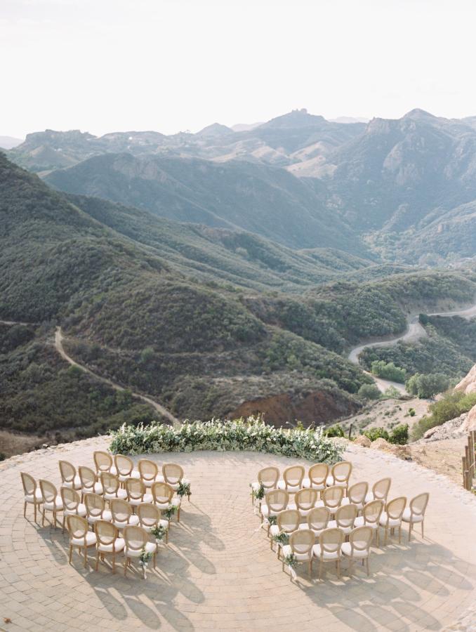 This mountain wedding venue is insane!