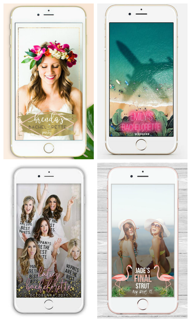 Check Out These Bachelorette Party Geofilters from Etsy!