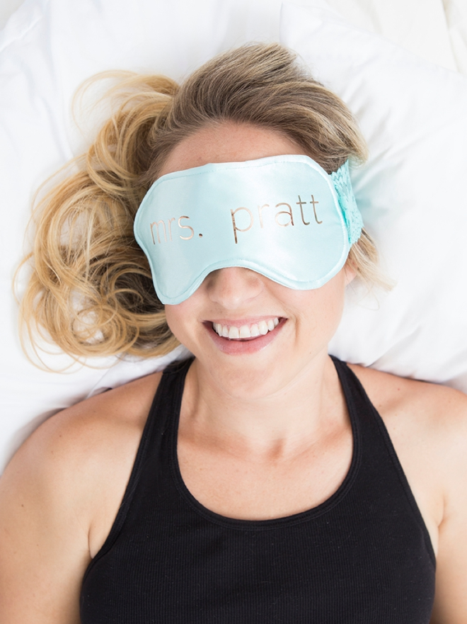 OMG, these are the cutest DIY sleep masks ever!