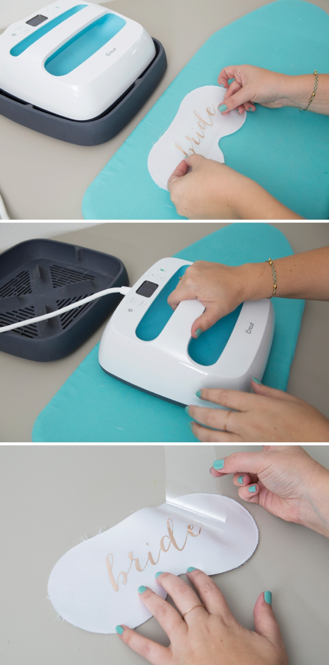 Use your Cricut EasyPress to create the cutest personalized sleep masks!