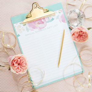 simple diy bridal shower gift list