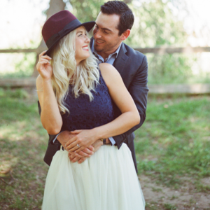 This gorgeous couple and their stunning engagement is SO cute!