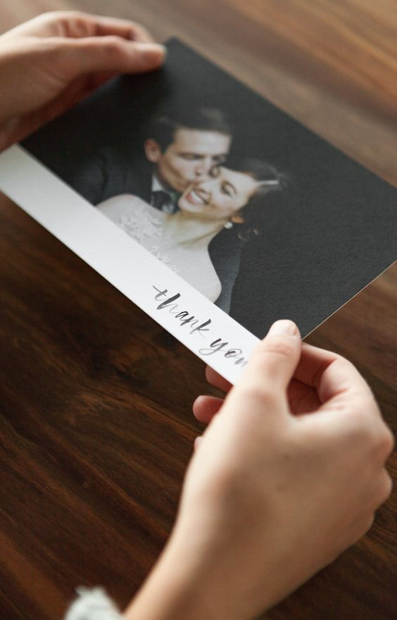 How to write the perfect wedding thank you card template.