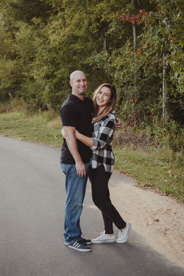 How darling is this casual fall engagement sesh!? LOVE!