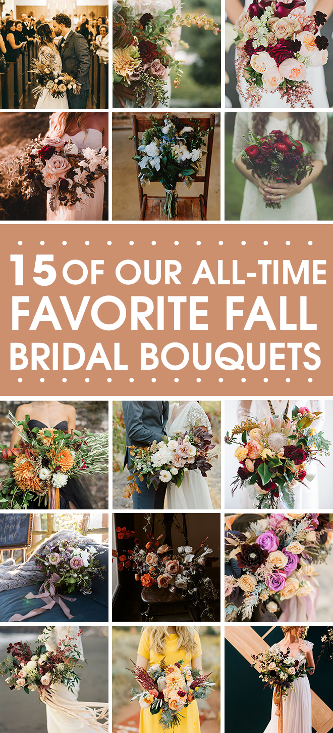 15 of our all time favorite fall bouquets.