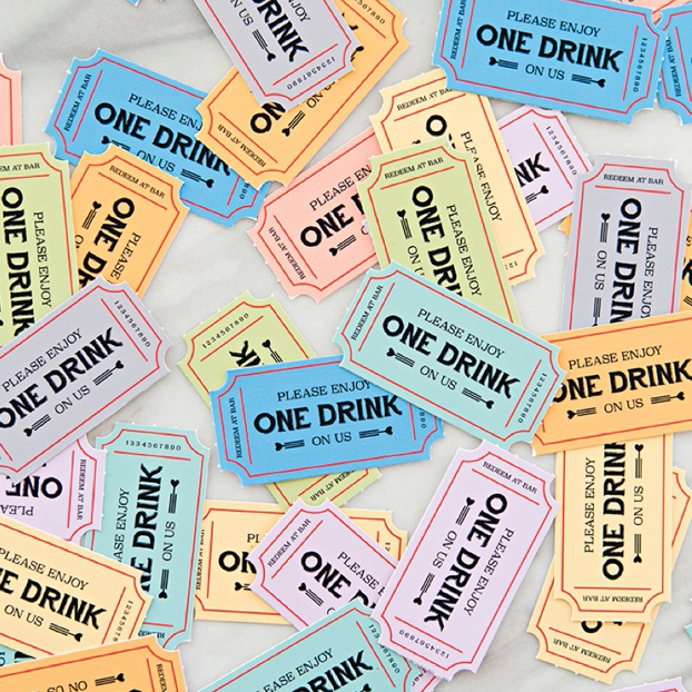 these free printable wedding drink tickets are so freaking cute