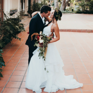 Crushing on this stunning styled fall wedding!