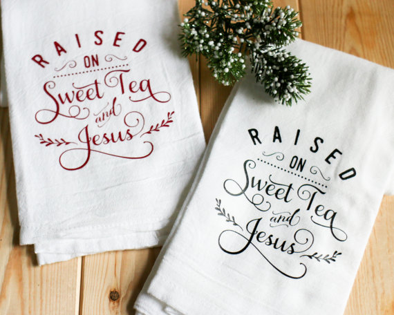 Do you know someone who needs this super cute tea towel? We do!