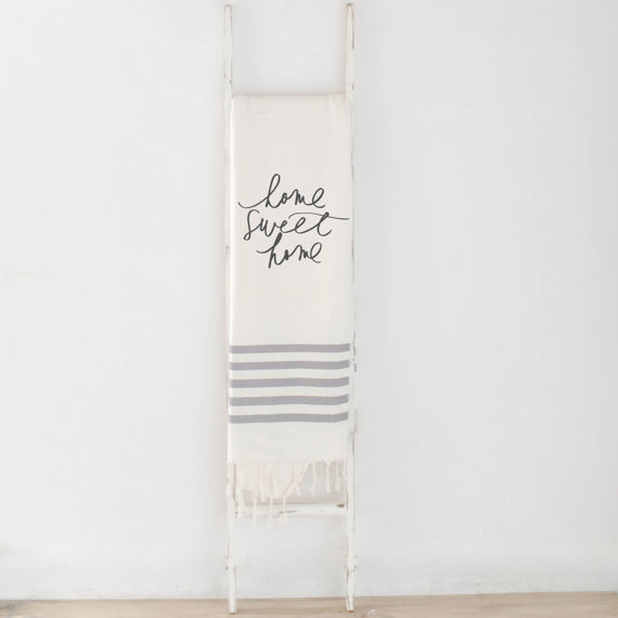 We're in love with this Home Sweet Home Throw!