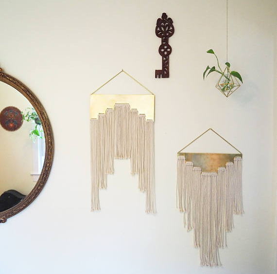 Gorgeous and cool wall hanging!