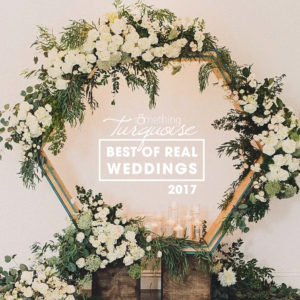 The Best of Real Weddings for 2017, did you event make the cut?