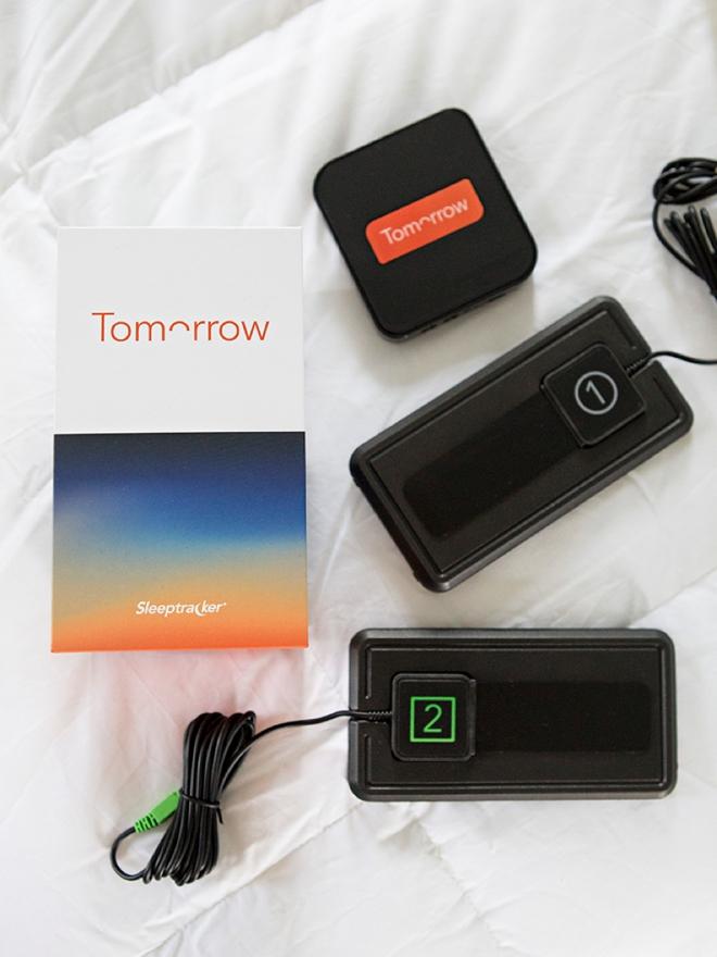 Track your sleep with the SleepTracker system!