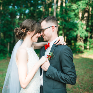 OMG! We are swooning over this super darling couple and wedding!
