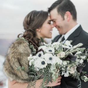 How GORGEOUS is this styled anniversary shoot?! LOVE!