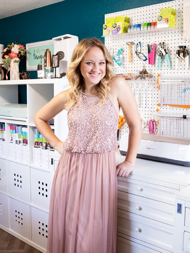 Jen Causey, founder of Something Turquoise and her new Craft Studio space!