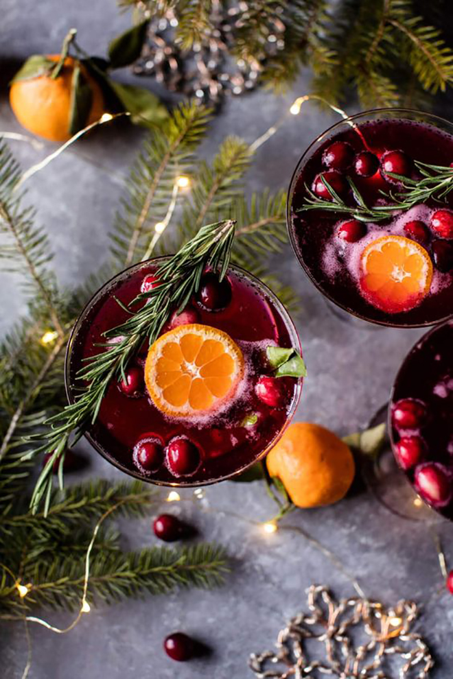 Why not consider a wintery signature cocktail?