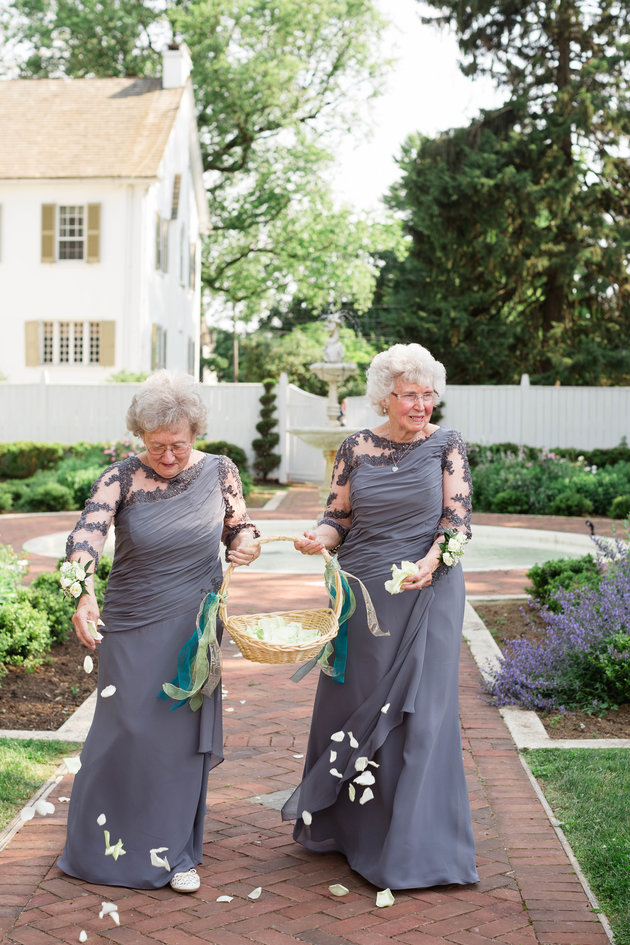 SO CUTE! I love the idea of using your grandmother(s) as your flower girl. Non-traditional and so sentimental.