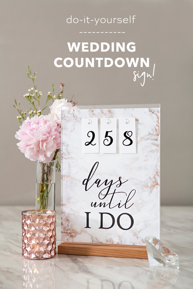 This Free Printable Days Until I Do Sign Is The Cutest