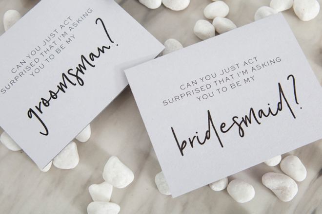 image regarding Free Printable Bridesmaid Proposal known as 30+ Free of charge Printable \