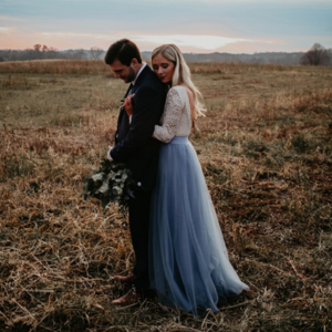 This styled boho winter wedding in Wisconsin is one you CAN'T miss!