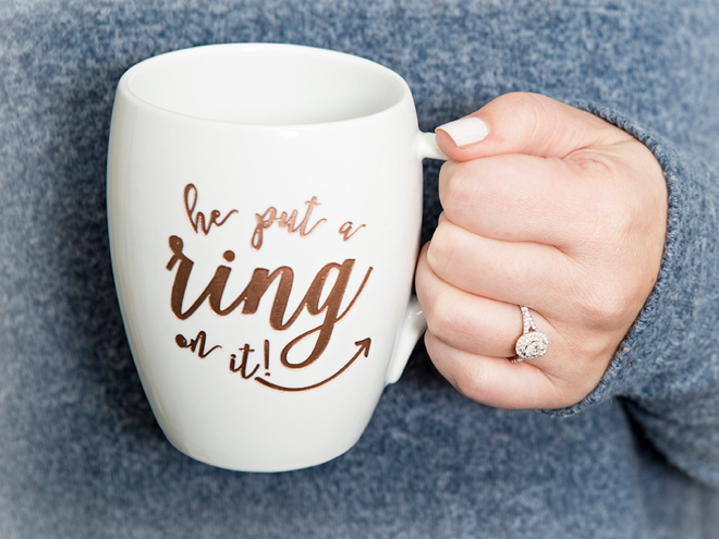 He put a ring on it. A Macy's ring that is!