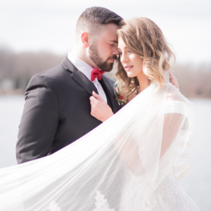 It's almost Valentines Day and this styled wedding is SO darling!