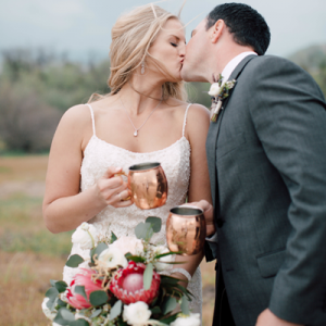 This dreamy backyard California wedding is SO amazing!