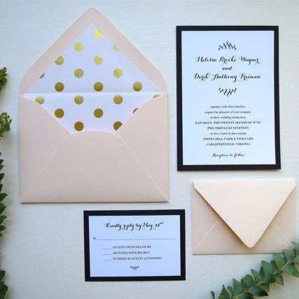 White Gown Invitations