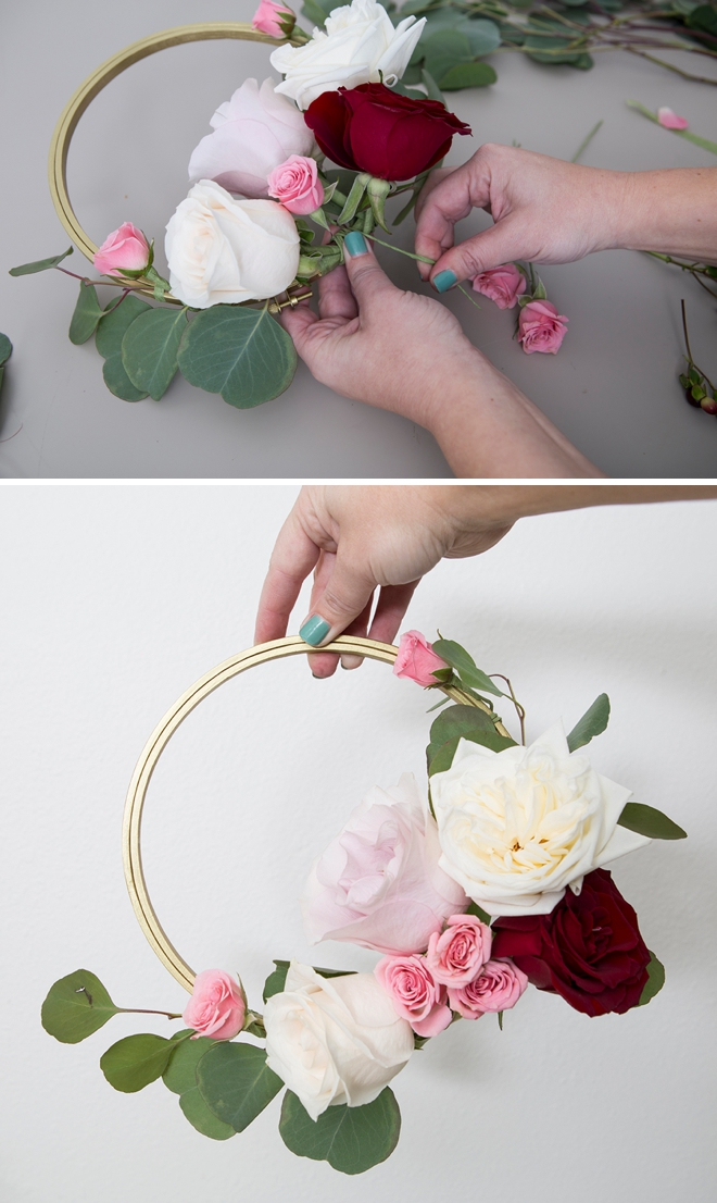Learn how to create these amazing floral decor hoops!