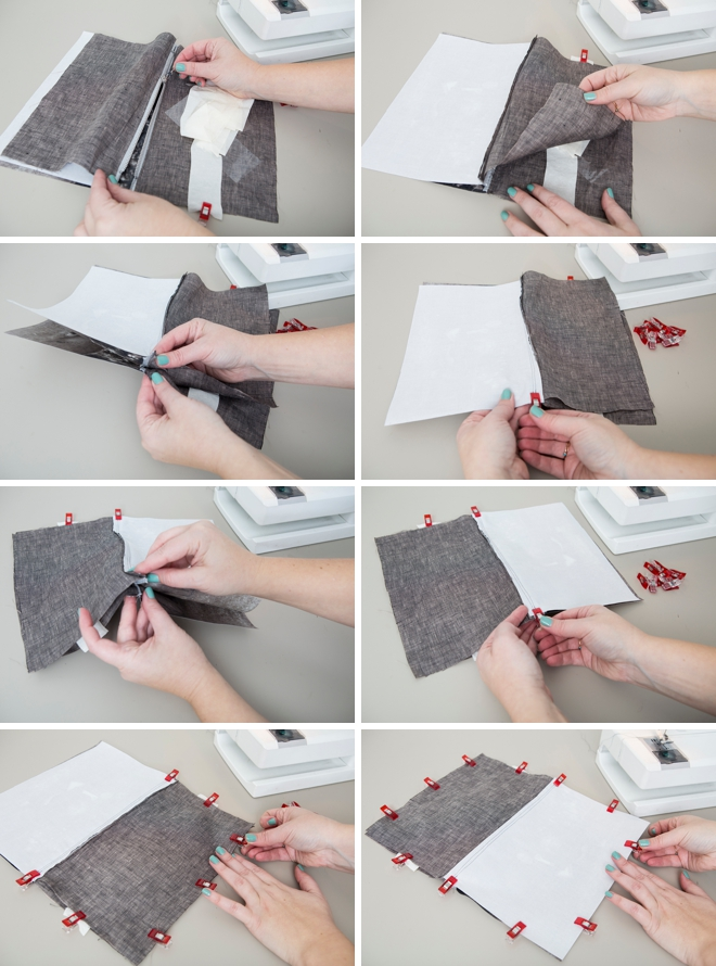 This photo-lined zipper pouch is super cute, here's how to make it!