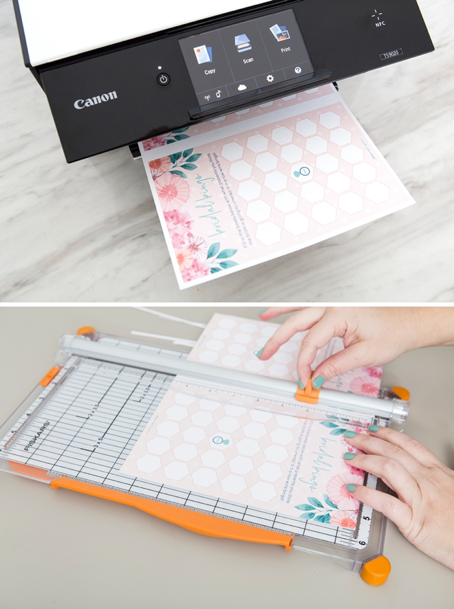 Free printable Bridal Shower Gift Bingo, such a fun game!