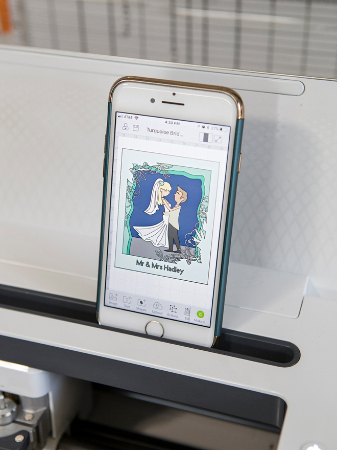 Work your Cricut using the app and your smart phone!