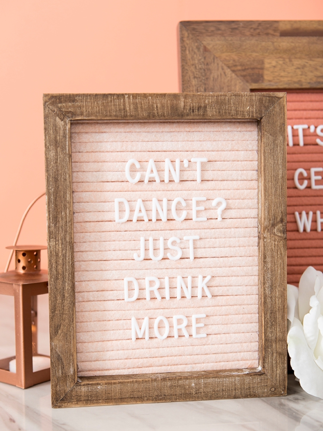 Woah You Have To See These Diy Custom Felt Letter Boards