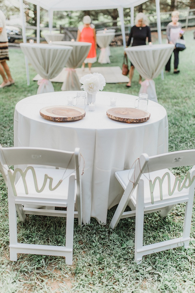 This couple's gorgeous DIY backyard wedding reception is ...