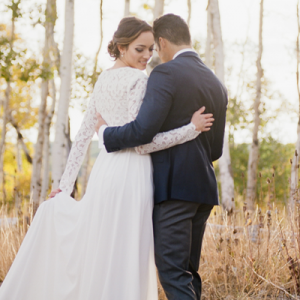 We're falling in love with this gorgeous styled wedding!